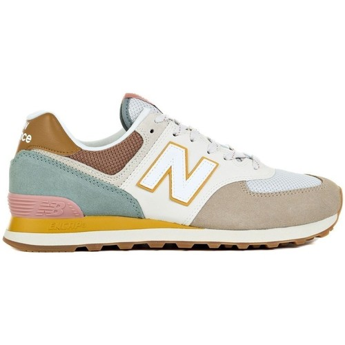 Shoes Men Low top trainers New Balance 574 Beige,Brown,Cream