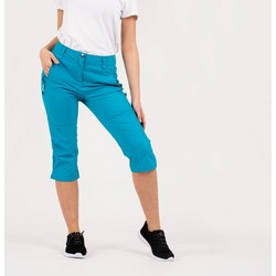 Clothing Women Cropped trousers Dare 2b Melodic II 43558 Length Walking Trousers Blue Blue