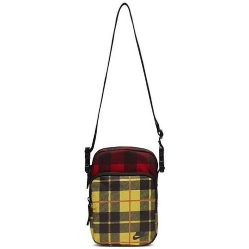 Bags Women Shoulder bags Nike Heritage Smit 20 Aop Yellow