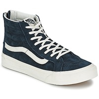 Shoes Women Hi top trainers Vans SK8-Hi Slim Zip BLUE / Graphite