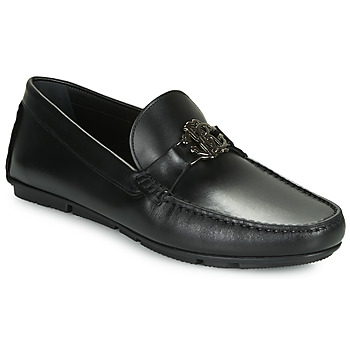 Shoes Men Loafers Roberto Cavalli 3229 Black