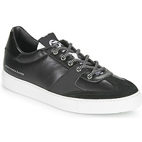 Shoes Men Low top trainers John Galliano 3565 Black