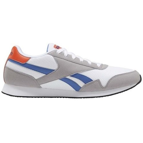 Shoes Men Low top trainers Reebok Sport Royal CL Jogger White,Red,Grey