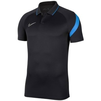 Clothing Men short-sleeved polo shirts Nike Dry Academy Pro Black