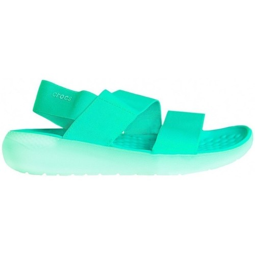 Shoes Women Sandals Crocs Literide Stretch Celadon