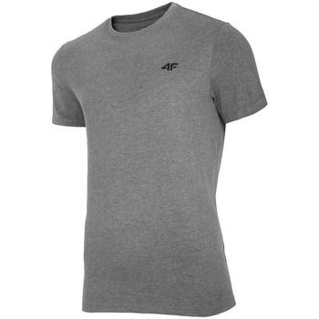 Clothing Men short-sleeved t-shirts 4F TSM003 Grey