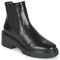 Shoes Women Mid boots Unisa JEROME Black