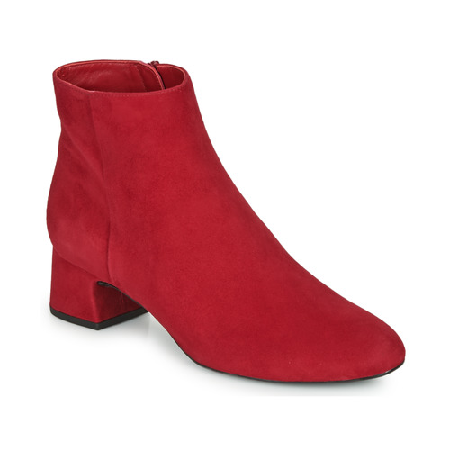 Shoes Women Ankle boots Unisa LOLI Red
