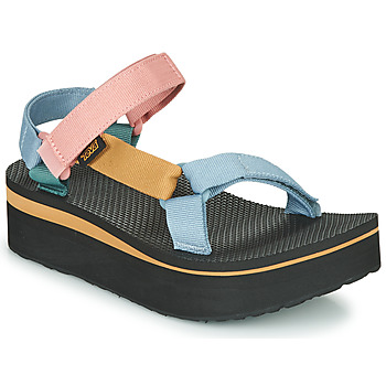 Shoes Women Sandals Teva FLATFORM UNIVERSAL Multicolour