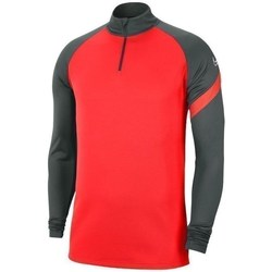 Clothing Men sweaters Nike Dry Academy Dril Top Graphite,Red
