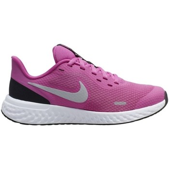 Shoes Children Low top trainers Nike Revolution 5 GS Pink