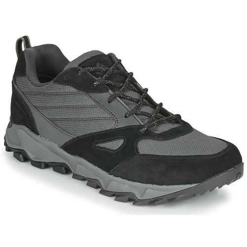 Shoes Men Multisport shoes Columbia IVO TRAIL WATERPROOF Black / Grey