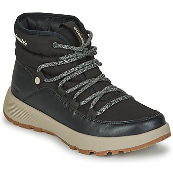 Shoes Women Snow boots Columbia SLOPESIDE VILLAGE OMNI HEAT MID Black