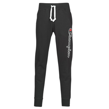 Clothing Men Tracksuit bottoms Champion HEAVY COMBED COTTON Black