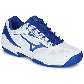 Shoes Men Indoor sports trainers Mizuno CYCLONE SPEED White / Blue