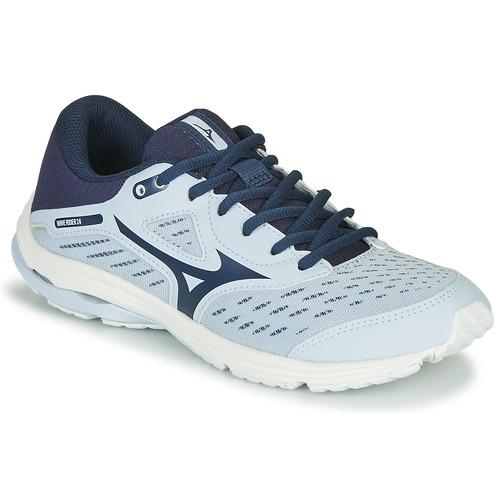Shoes Girl Running shoes Mizuno WAVE RIDER JR Blue