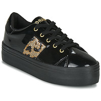 Shoes Women Low top trainers No Name PLATO M DERBY Black