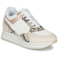 Shoes Women Low top trainers No Name PARKO JOGGER White / Pink