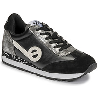 Shoes Women Low top trainers No Name CITY RUN JOGGER Black / White
