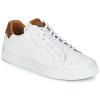 Shoes Men Low top trainers Schmoove SPARK CLAY White / Brown
