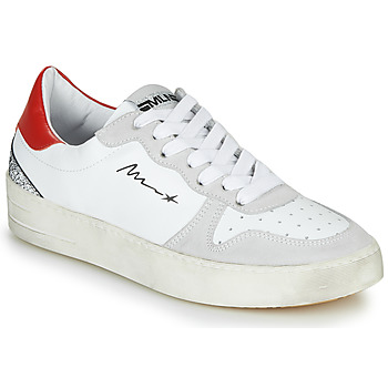 Shoes Women Low top trainers Meline STRA5007 White / Red