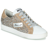 Shoes Women Low top trainers Meline IN5051 Beige / Gold