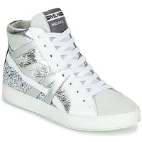 Shoes Women Hi top trainers Meline IN1363 White / Silver