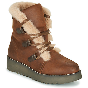 Shoes Women Mid boots MTNG 50019-C50069 Brown