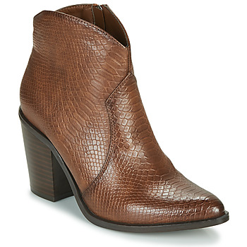 Shoes Women Ankle boots MTNG 50187-C50166 Brown