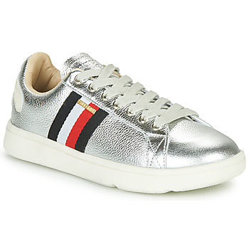 Shoes Women Low top trainers Superdry VINTAGE TENNIS TRAINER Silver