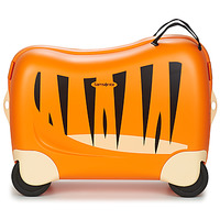 Bags Children Hard Suitcases Sammies DREAM RIDER TIGER TOBY Orange