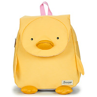 Bags Children Rucksacks Sammies DUCK DODIE BACKPACK Yellow