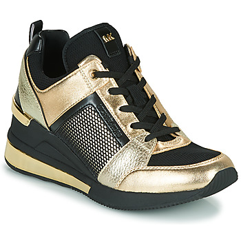 Shoes Women Low top trainers MICHAEL Michael Kors GEORGIE TRAINER EXTREME Black / Gold