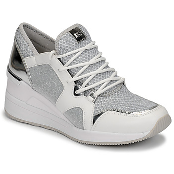 Shoes Women Low top trainers MICHAEL Michael Kors LIV TRAINER White / Silver