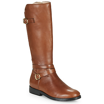 Shoes Girl High boots Acebo's 9863-CUERO-T Brown