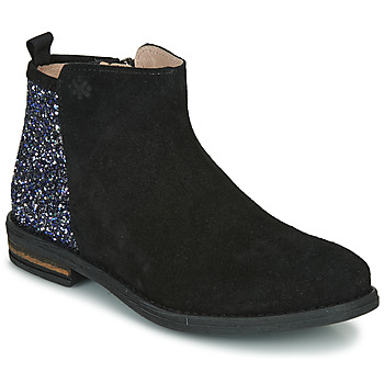 Shoes Girl Mid boots Acebo's 8035-NEGRO-T Black