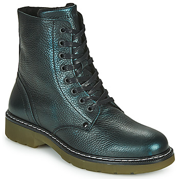 Shoes Girl Mid boots Bullboxer AOL501E6LGPETR Green