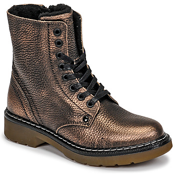 Shoes Girl Mid boots Bullboxer AOL501E6LGCHAM Bronze