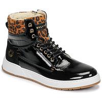Shoes Girl Hi top trainers Bullboxer AOF503E6L-BLCK Black