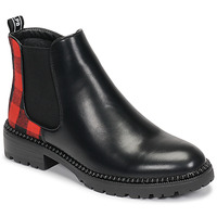 Shoes Women Mid boots Les Petites Bombes ABI Black / Red