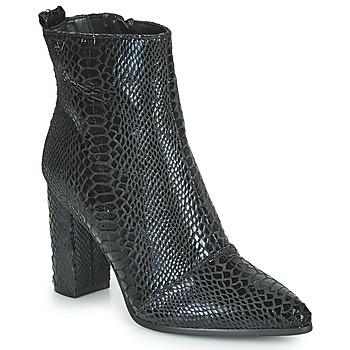 Shoes Women Ankle boots Les Petites Bombes YGRITTE Black