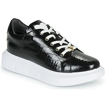 Shoes Women Low top trainers Love Moschino JA15494G0B Black