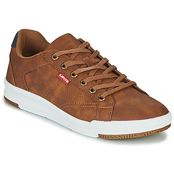 Shoes Men Low top trainers Levi's COGSWELL Brown