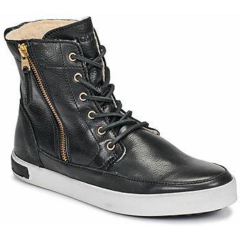 Shoes Women Hi top trainers Blackstone CW96 Black