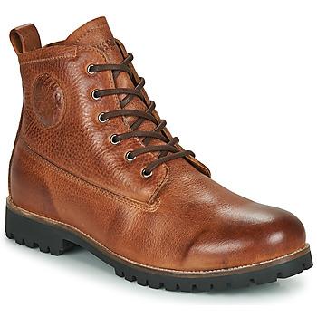 Shoes Men Mid boots Blackstone OM60 Brown