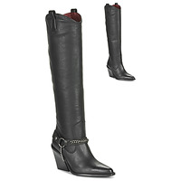 Shoes Women High boots Bronx NEW KOLE Black