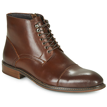 Edwardian Men's Shoes & Boots | 1900, 1910s Kdopa  DOUGLAS  mens Mid Boots in Brown £114.30 AT vintagedancer.com