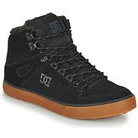 Shoes Men Hi top trainers DC Shoes PURE HT WC WNT M Black