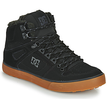 Shoes Men Hi top trainers DC Shoes PURE HT WC WNT M Black