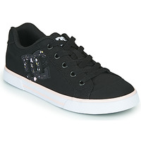 Shoes Women Low top trainers DC Shoes CHELSEA Black